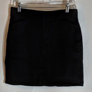refashioned Gap Skirts - Gap Black Stretch Jean Skirt Refashioned fuck sz 6